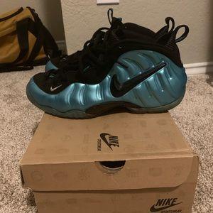 Nike Electric Blue Foamposites